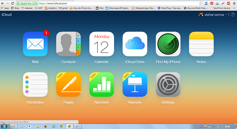 find my iphone app website