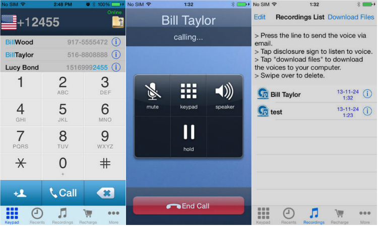 Call Recorder - VoIP phone calls & recorder