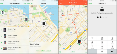 How to use Find My iPhone App Features, Limitations