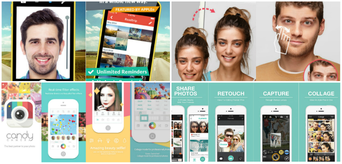Best Selfie Apps For iOS and android (iPhone,iPad,iPod)
