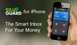 Bill guard personal finance app fir iPhone