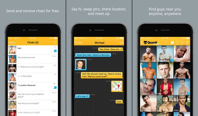 Grindr Dating Apps for iPhone