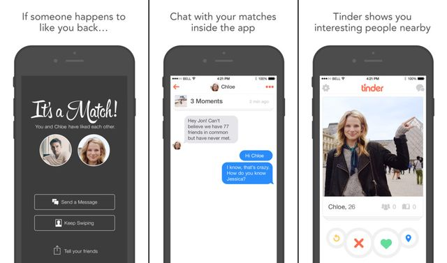 Tinder Dating Apps for iPhone