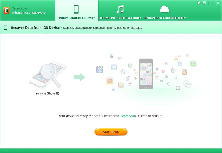 iPhone Data Recovery Tutorial to Recover Data from iPhone
