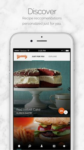 Yummly Recipes & Recipe Box Recipe Manager App for iOS Devices