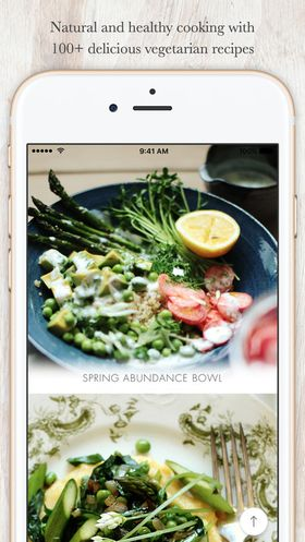 Recipe Manager App for iOS Devices