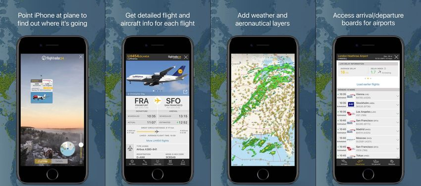 Flightradar24 Flight Tracker AR App