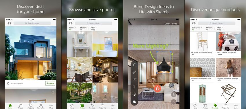 Houzz Interior Design Ideas AR App