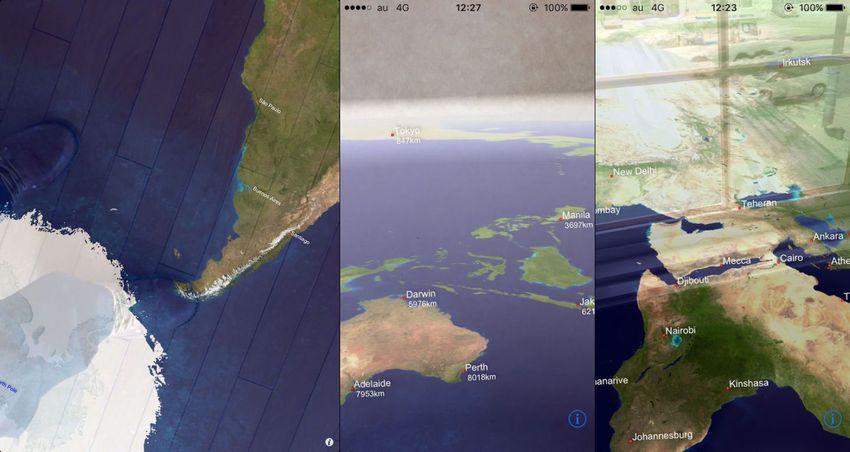 Transparent Earth -See the other side of the earth on AR App